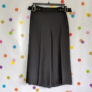 NWT H&M Buckle Culotte Pants
